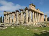 Temple of Zeus  Cyrene  Greek and Roman Ruins  Libya