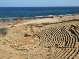 Greek Theatre  Apollonia  Greek and Roman Ruins  Libya