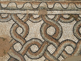 Mosaic  Eastern Church  Apollonia  Greek and Roman Ruins  Libya
