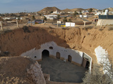 Traditional Troglodyte Homes of Matmata  Tunisia