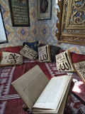 Prayer Room in Dar El-Annabi  Traditional Tunisian House  Sidi Bou Said  Tunisia