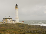The Lighthouse on Corsewall Point on the Rhins of Galloway  Scotland  UK