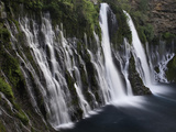 Burney Falls  Burney Falls State Park  California  USA
