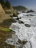 Cape Arago Is a Scenic Headland Jutting into the Pacific Ocean  Oregon  USA