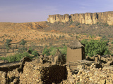 Dogon Village of Nombori and the Bandiagara Escarpment  Mali