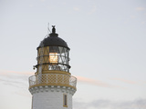 The Lighthouse on the Mull of Galloway on the Rhins of Galloway  Scotland  UK