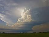 A Supercell Storm Near Oklahoma City  Oklahoma
