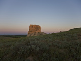 Jail Rock  Nebraska  USA at Sunset