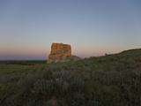 Jail Rock  Nebraska  USA at Sunset