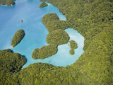 Lagoon in the Islands of Palau  Micronesia