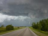 Tornado Near Wilson  Kansas  USA