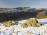 On the Fells Above Troutbeck in the Lake District  UK