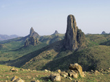 Kapsiki Peak  Volcanic Plugs Near Rhumsiki  Mandara Mountains  Cameroon