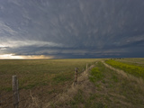 An Approaching Supercell in the Nebraska Panhandle  USA