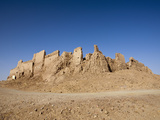 Ruins of El-Ghweita Temple in Kharga Oasis  Libyan Desert  Egypt