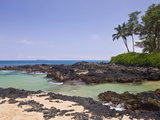 Bay at Cape Kinau  Maui  Hawaii  USA