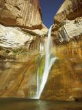Lower Calf Creek Falls  Calf Creek  Grand Staircase Escalante National Monument  Utah  USA