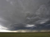 Rainshafts and Outflow from a Colorado Squall Line