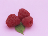 Three Kilarney Raspberries and Leaf  a Source of Vitamin C and Fiber