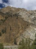 Contact Zone Between the Pine Creek Roof Pendant (Metamorphosed Sedimentary Rock)