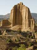 Monolith in the Upper Cathedral Valley of Capitol Reef National Park
