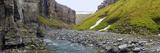 Gull Canyon and River  Somerset Island  Nunavut