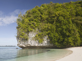 Long Beach at Rock Islands  Micronesia  Palau
