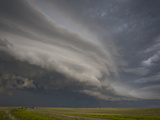 Inflow and Outflow Clouds with an Approaching Supercell in the Nebraska Panhandle