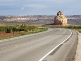 Church Rock on Highway 191 South of Moab  Utah  USA