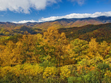 Autumn View of the Southern Appalachian Mountains from the Blue Ridge Parkway