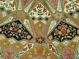 Ceiling Details  Amber Fort  Jaipur  India