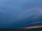 Intracloud Lightning from a Thunderstorm in Central Nebraska  USA