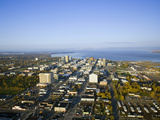 Downtown Anchorage Alaska in the Fall