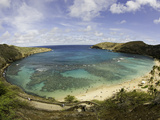 The Hanauma Bay Nature Preserve Is Coastal and Marine Preserve Located on Southeast Oahu