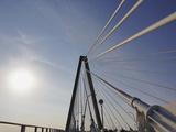 Suspension Details of Arthur Ravenel Jr Bridge  Charleston