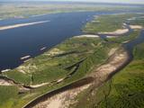 The Lena River Near Yakutsk  Siberia  Russia  Sakha Republic  Siberia  Yakutia  Arctic