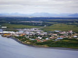 Dillingham in Bristol Bay Is the Center for Some 36 Alaskan Native Villages  Alaska  USA