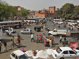 Traffic Congestion in Jaipur  India