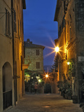 Twilight in Pienza  Italy  Tuscany