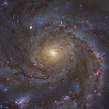 The Core of M101  the Giant Pinwheel Galaxy 235 Million Light Years Away