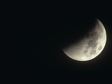 Midway Through a Total Lunar Eclipse