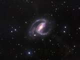NGC1097  Spiral Galaxy in Fornax