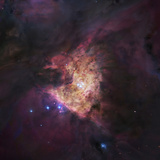 M42  the Great Orion Nebula with a Small Grouping of Hot O and B Type Stars