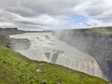 Gulfoss Waterfall  the Golden Waterfall  Iceland