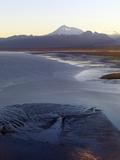 Mount Redoubt Volcano from Low over Redoubt Bay in the Cook Inlet of Alaska