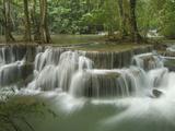 Huay Mae Kamin Waterfall  Kheaun Sri Nakarin National Park  Thailand
