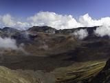 Panoramic View from Kalahaku Overlook across Haleakala Crater