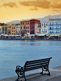 Chania at Dusk  Crete  Greece
