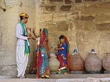 Young Indian Performers  Mehrangarh Fort  Jodhpur  India
