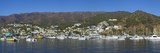 Panoramic View of Catalina Harbor  Catalina Island  California